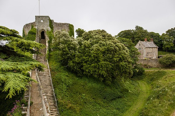 "Carisbrooke Castle, Isle of Wight ""Dressing up as knights, jousting, learning about its archaeology and the fate of a king... Never tire of its calming walks and atmosphere."""