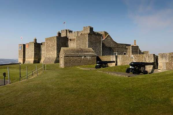 "Dover Castle, Kent ""Beautiful castle, amazing secret wartime tunnels,  fantastic backdrop of countryside meeting the sea. Not to mention the incredible events."""