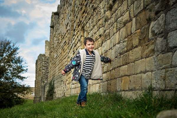 "Warkworth Castle, Northumberland ""The best thing is being allowed to clamber over so much, it lets the imagination go wild!"""