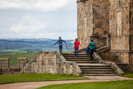 "Bolsover Castle, Derbyshire ""Can spend the whole day there. Kids love the little castle and ruins. A bit of everything there and the jousting is fantastic."""