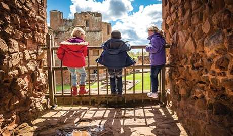 "Kenilworth Castle, Warwickshire ""So much history, and when you walk in the fields around it in the early evening and the sun hits that red stone, it's just beautiful."""