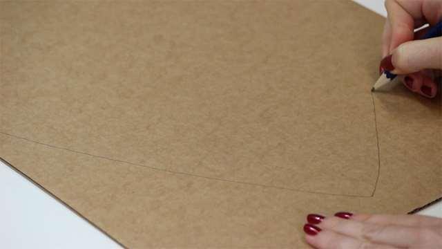 How to make a cardboard shield | English Heritage