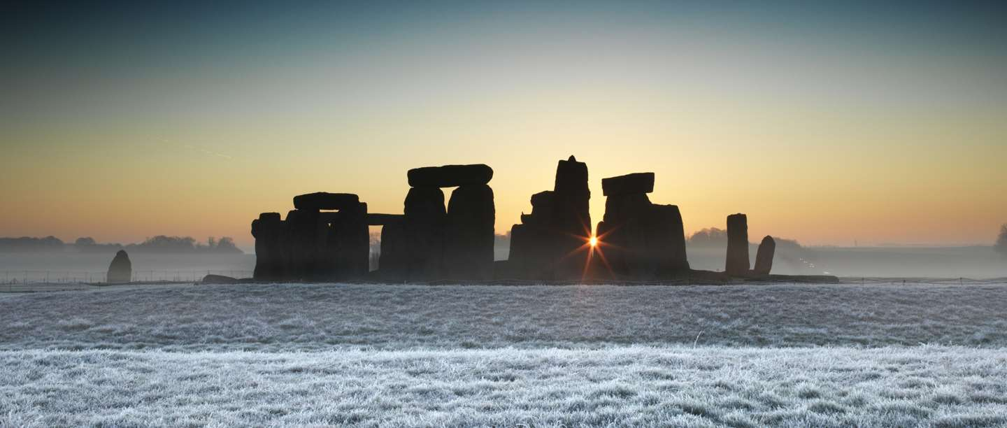 Stonehenge in Winter