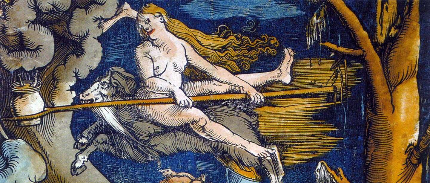 Detail from the 1508 painting 'The Witches'