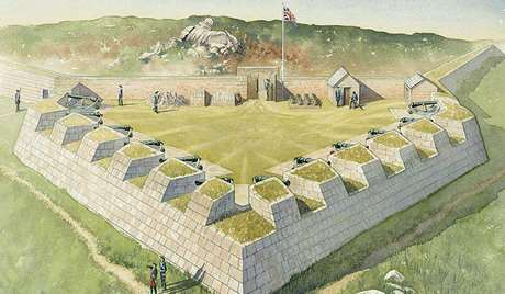 Reconstruction of Woolpack Point Battery