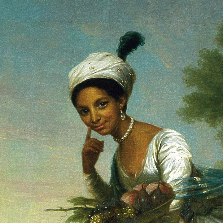 The only known portrait of Dido Belle