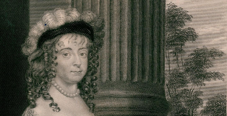 Portrait of Margaret Cavendish