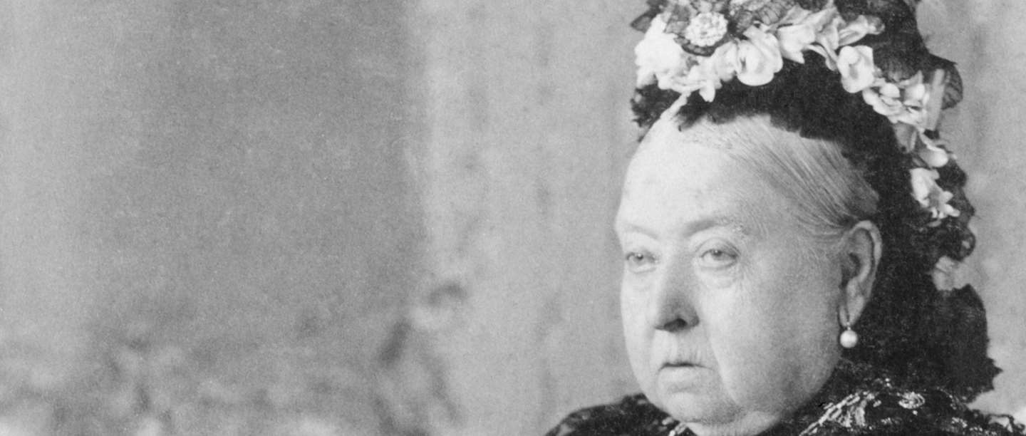 A photograph of Queen Victoria in old age