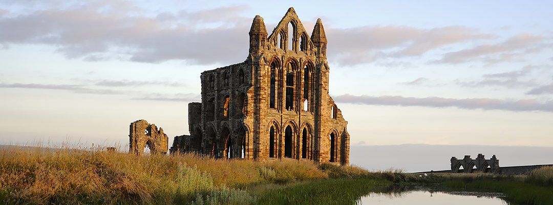 The ruins of the Benedictine abbey at Whitby