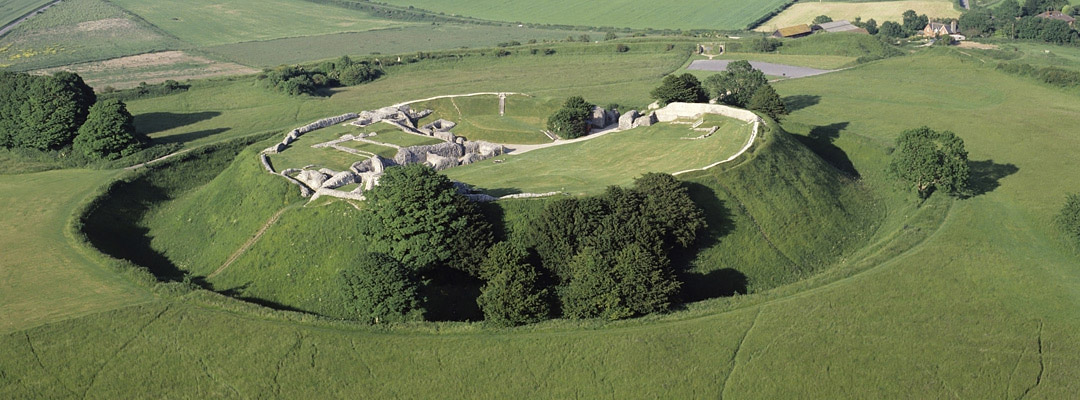 Old Sarum, Wiltshire, a notorious 'rotten borough'