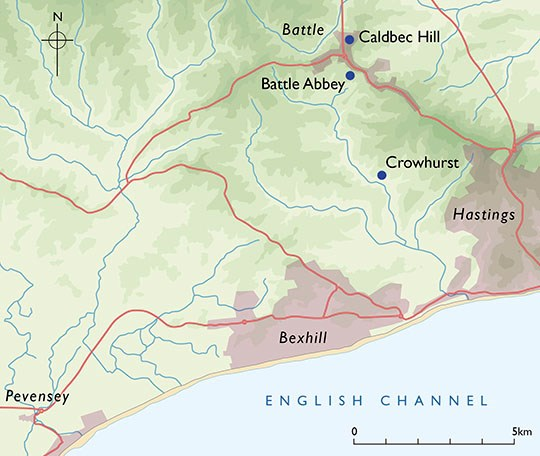 Where Did The Battle Of Hastings Happen English Heritage