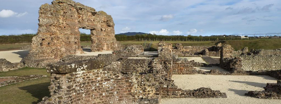 Wroxeter Roman City, Shropshire, one of Britain's 17 'civitas' capitals