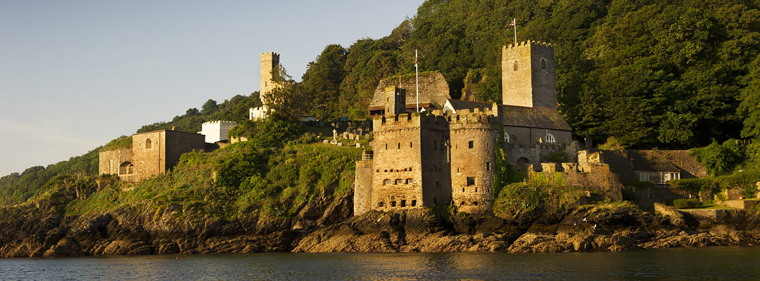 Dartmouth Castle, Devon, which was seized by Sir Peter Carew in 1552