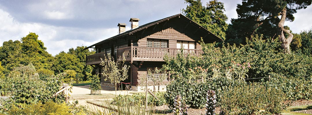 The Swiss Cottage, built in 1853–4 for the royal children at Osborne, on the Isle of Wight