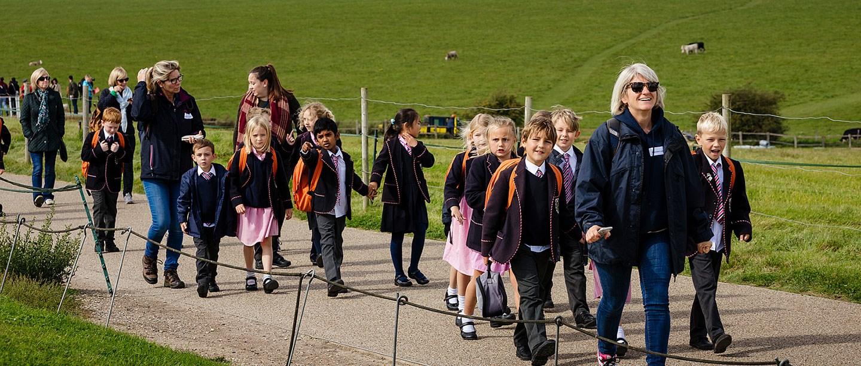 A school visit to Stonehenge