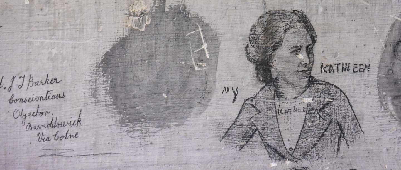 Graffiti at Richmond Castle