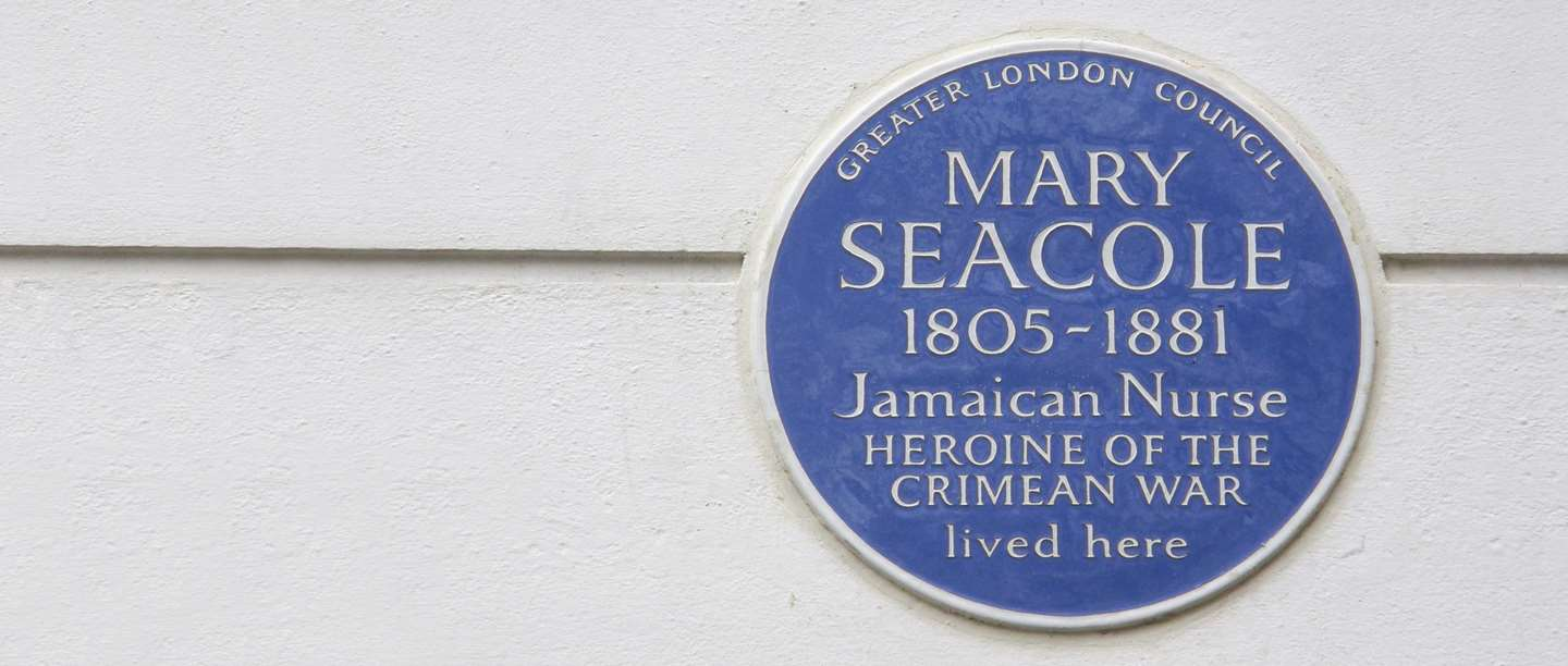 Image: Mary Seacole blue plaque