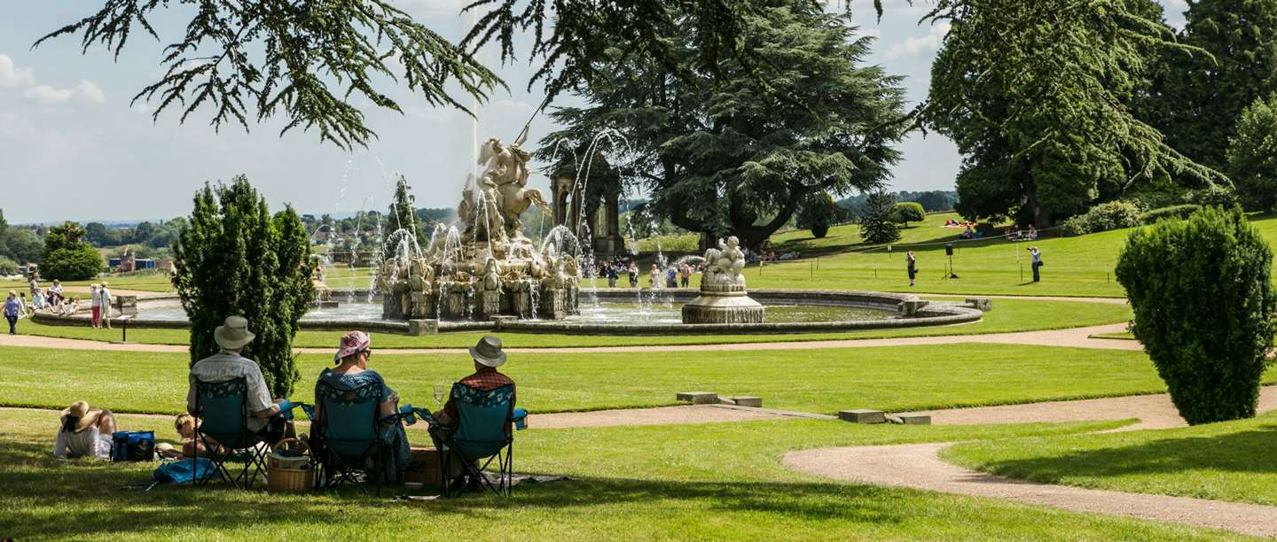 Image: Fountain at Witley Court and Gardens