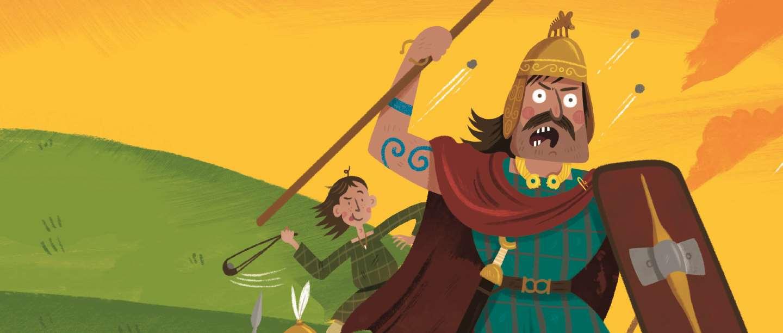 Iron Age warriors illustration