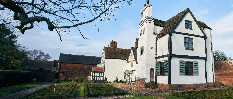 Image: Boscobel House in Shropshire