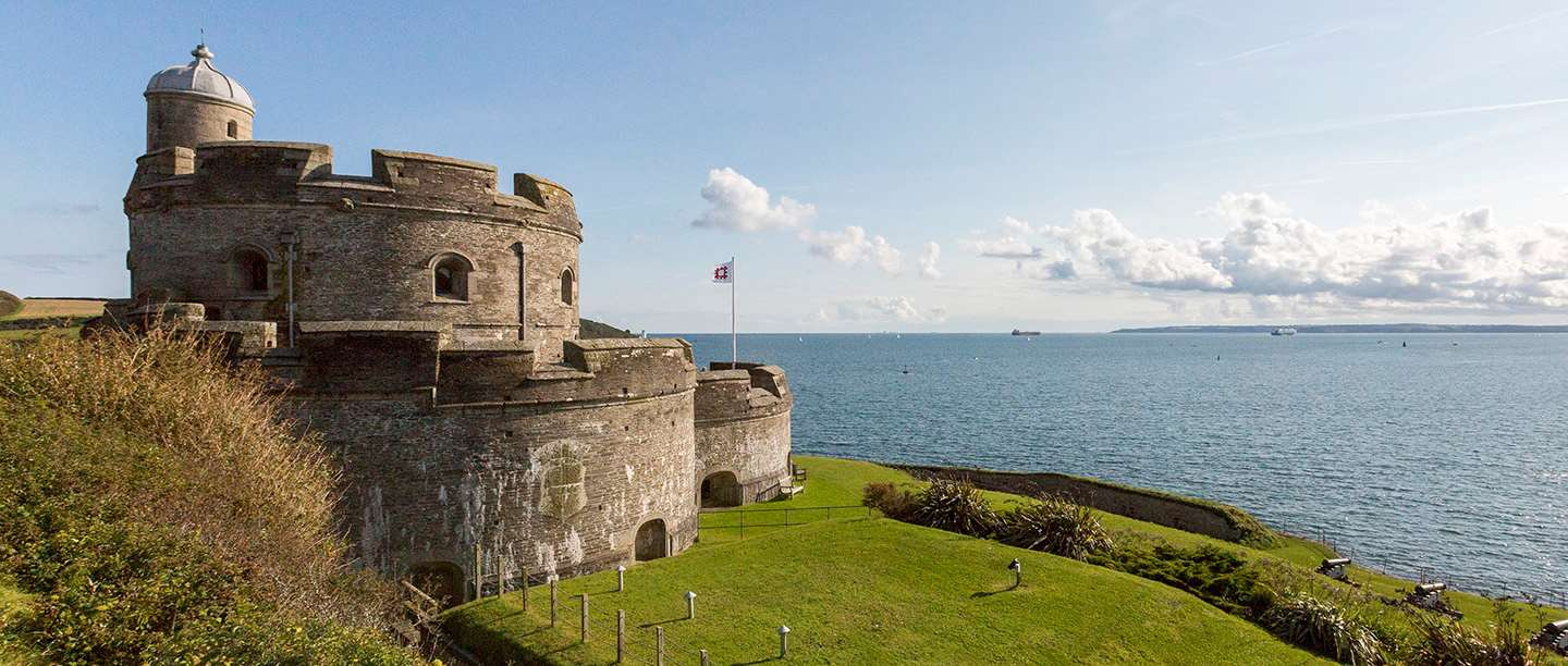 Image: St Mawes Castle in Cornwall