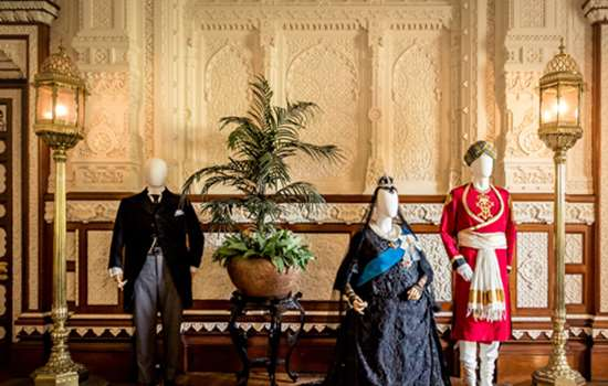 Image: Victorian clothing at Osborne