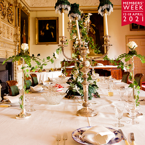Image: Audley End dining table