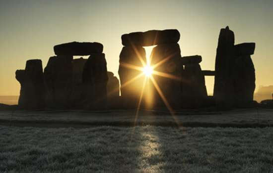 Image: Stonehenge at sunrise (copyright Historic England)