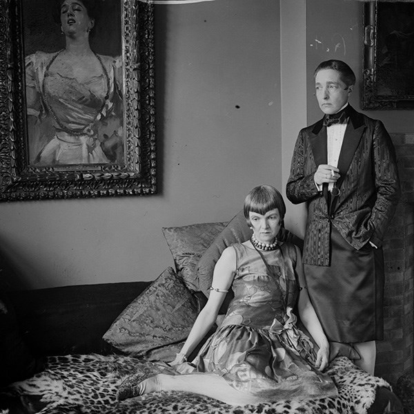 Radclyffe Hall and Lady Una Troubridge