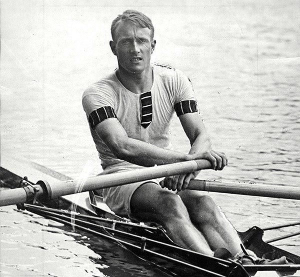 Jack Beresford pictured in 1927
