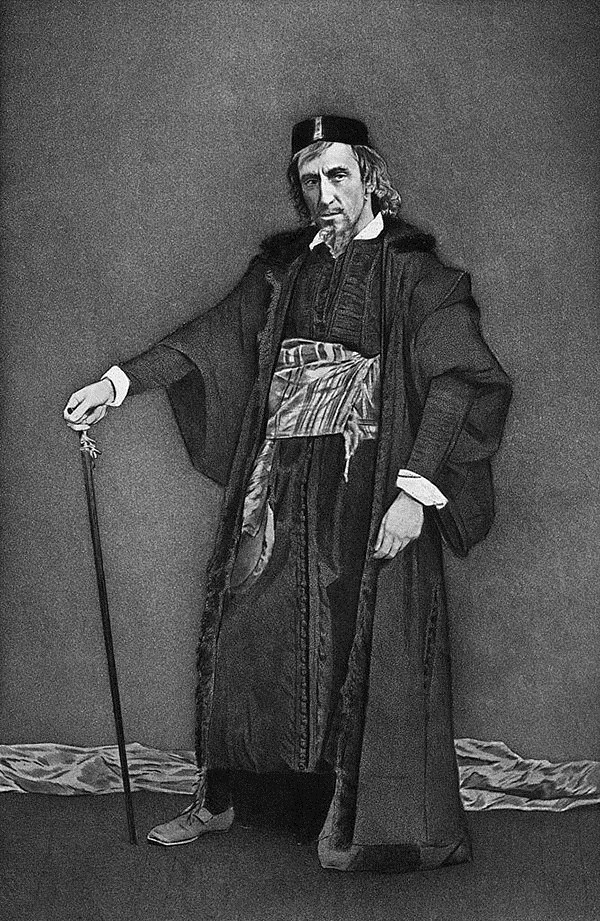 Henry Irving as Shylock
