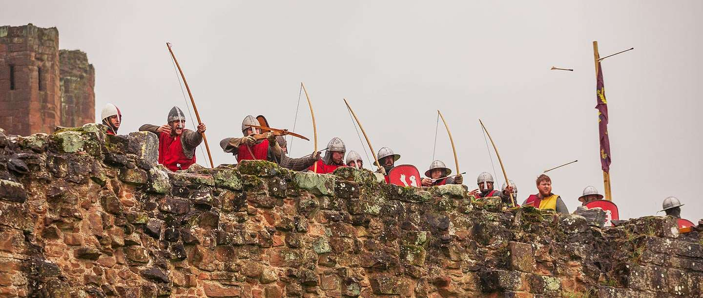 Image result for soldiers on a castle wall