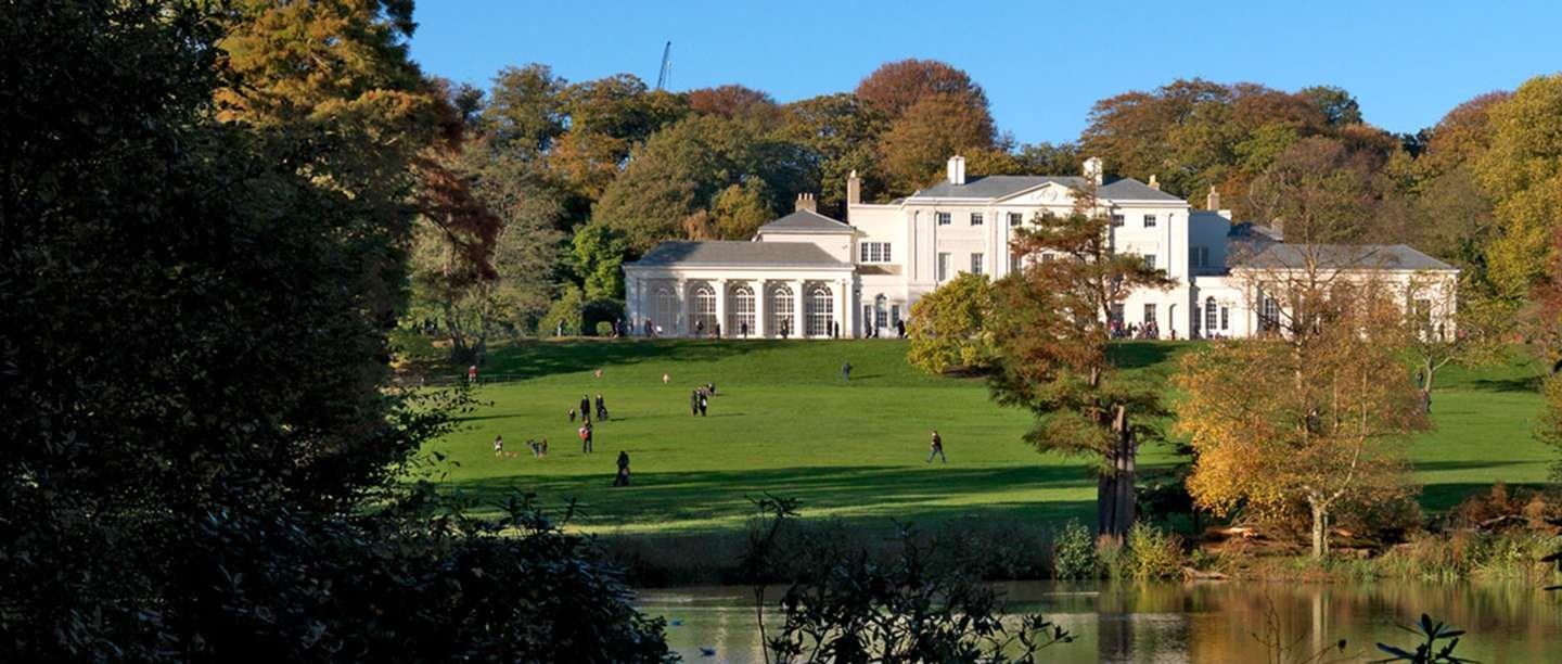 Kenwood surrounded by autumnal trees