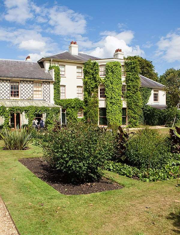 THE HOME OF CHARLES DARWIN (DOWN HOUSE)