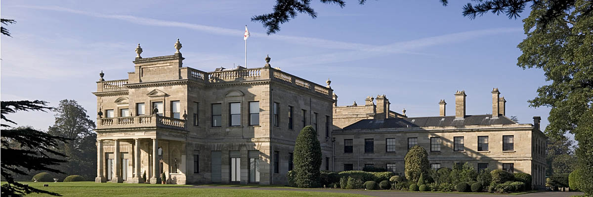 The east front of Brodsworth Hall