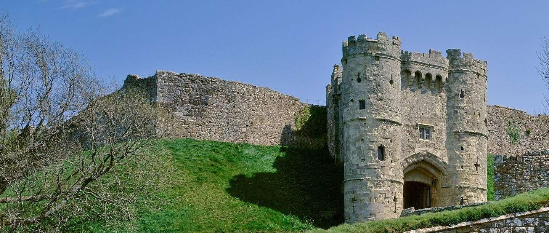 Carisbrooke Castle gatehouse