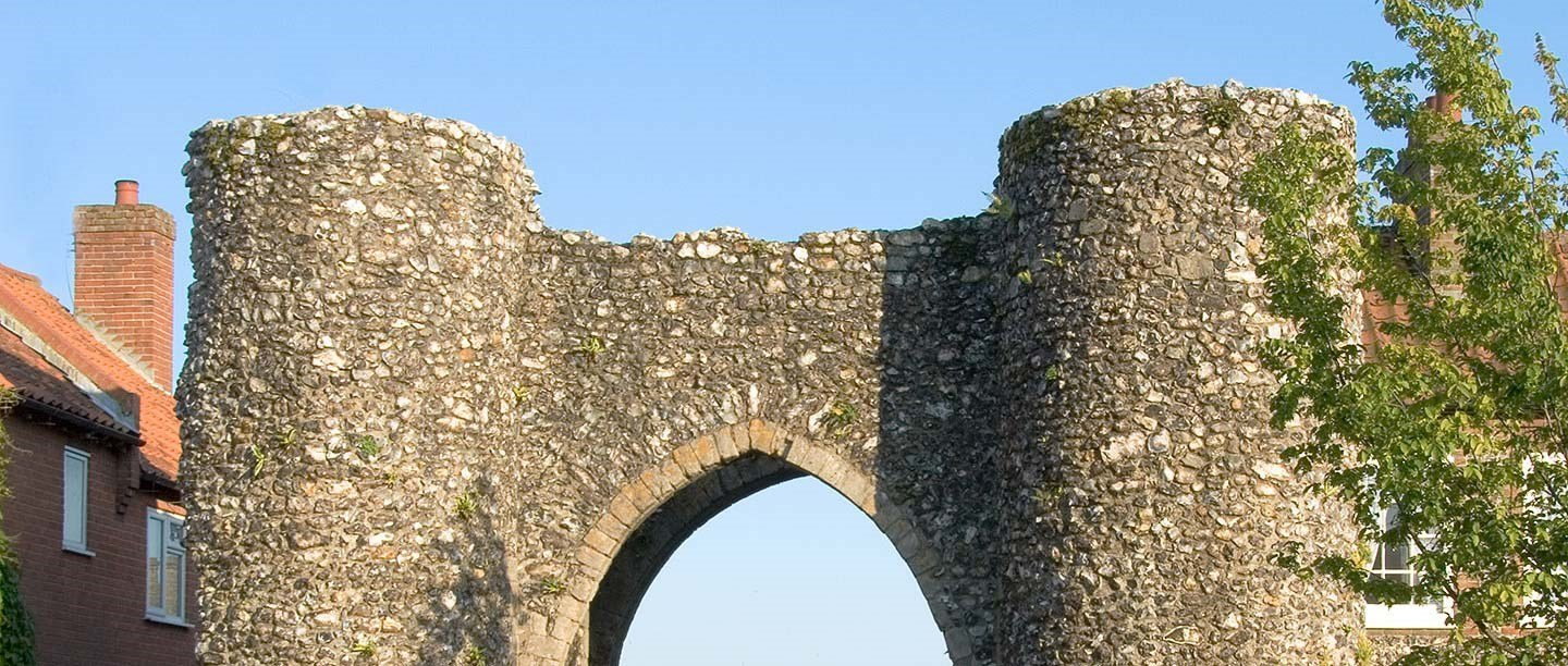 Castle Acre Castle And Bailey Gate English Heritage