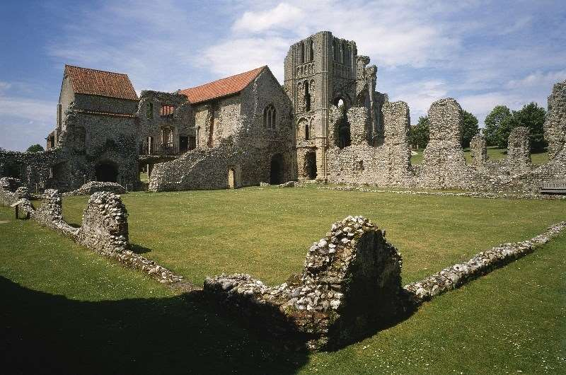 Castle Acre Castle Acre Priory English Heritage