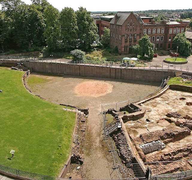 chester roman amphitheatre english heritage