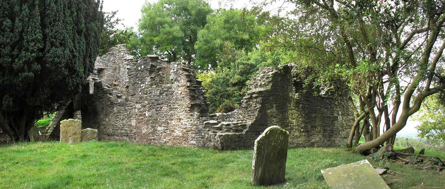 Edvin Loach Old Church, seen from the graveyard