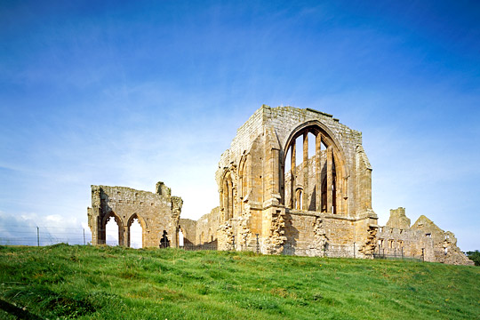 Egglestone Abbey from the north-east