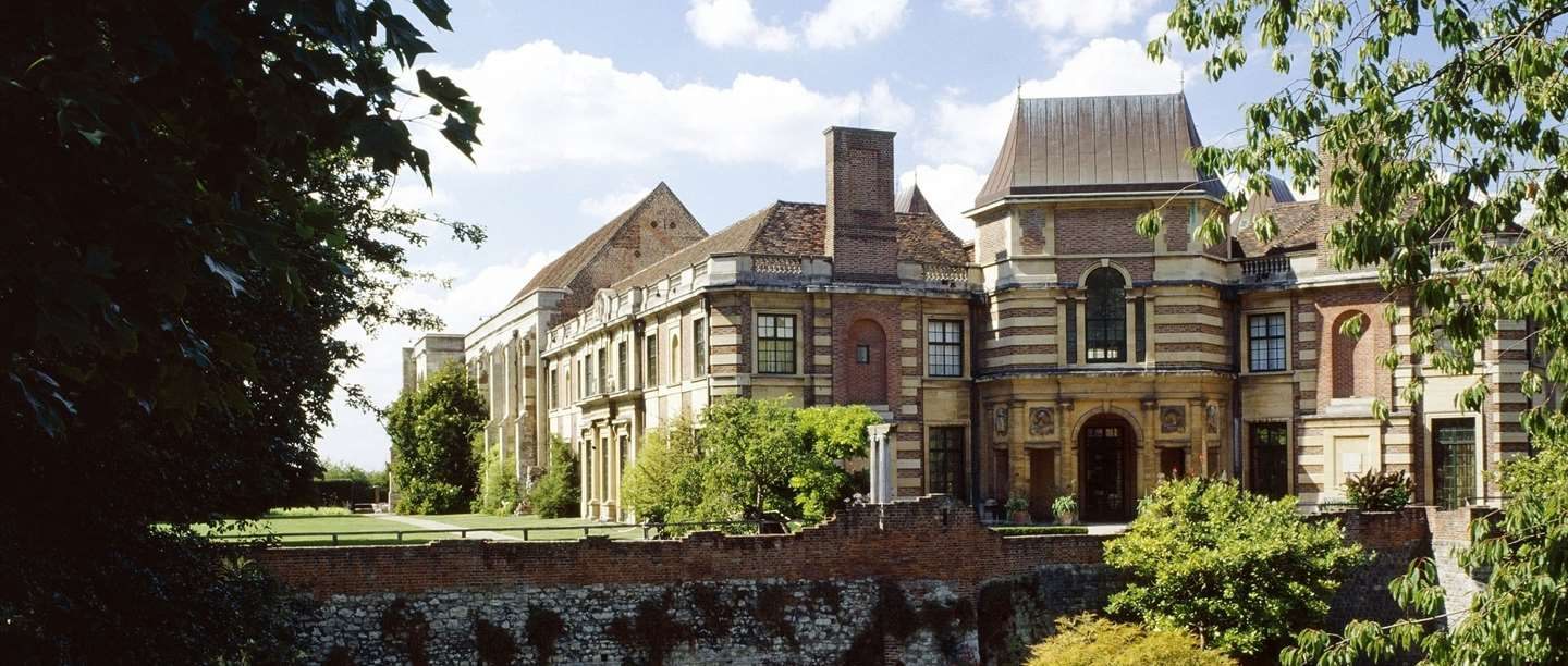 Eltham Palace entrance facade