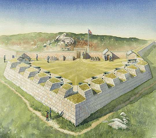 History of Garrison Walls, St Mary's | English Heritage