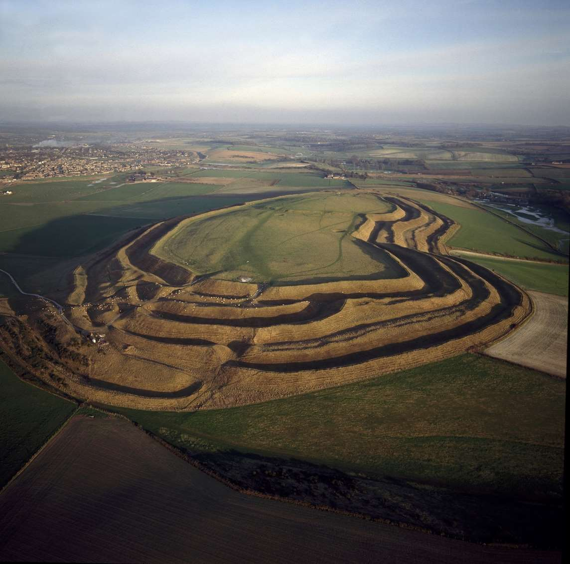 Maiden Castle English Heritage