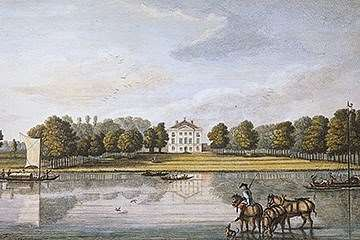 Engraving of Marble Hill in 1749
