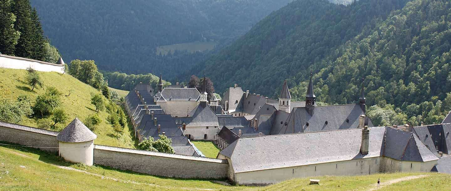 The Grande Chartreuse, which remains the head monastery of the Carthusian order today