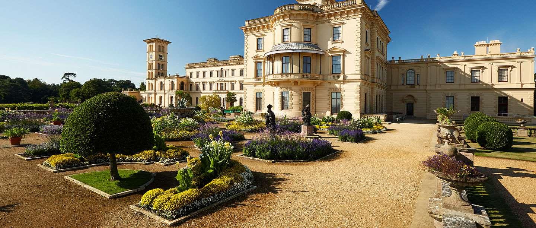 Osborne's Upper Terrace in Summertime.