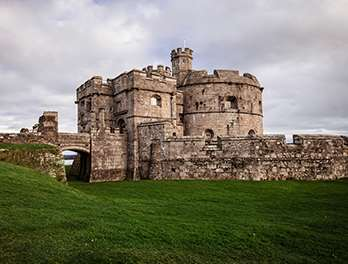 Tudor Keep at Pendennis Castle
