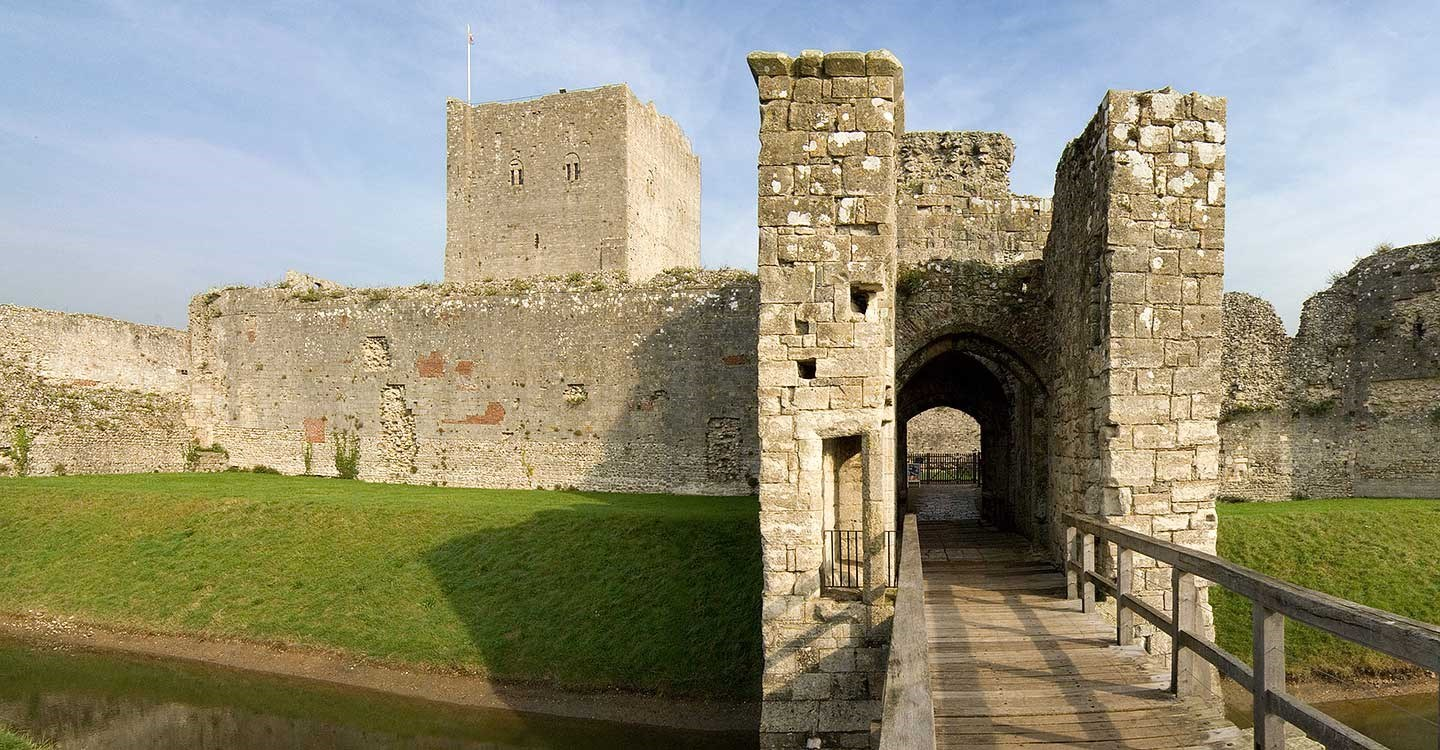 The inner gatehouse at Portchester Castle