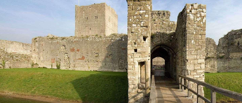 The inner gatehouse at Portchester Castle